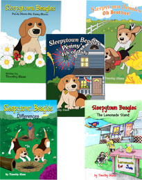 Sleepytown Beagle books
