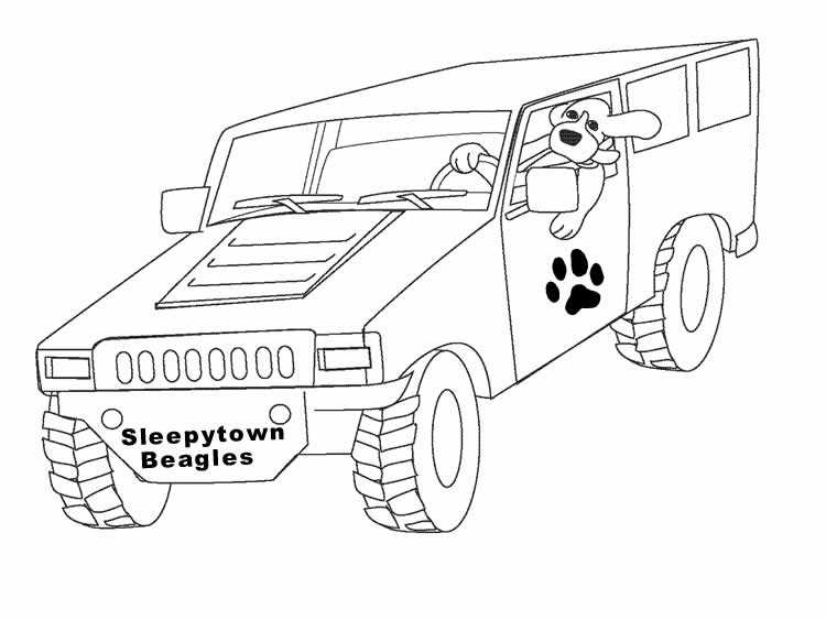 hummer coloring pages to print - photo#6